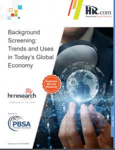Employment Background Screening: Industry Trends